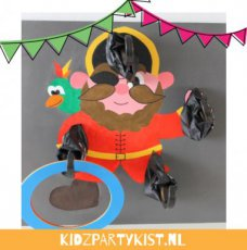 Piratenfeest spel ringgooien