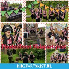 Piratenfeest spelletjes en speurtocht